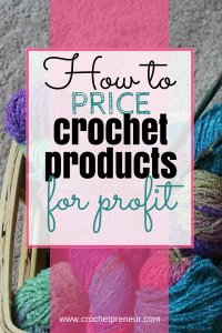 Finally, crochet pricing can be so hard, but this post helped me figure it out and the downloadable pricing calculator is amazing! #crochetpricing #pricingcrochet #howtopricecrochet #pricecrochetproducts #pricingcalculator #pricingchart #handmadepricing