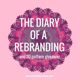 REBRANDING | Welcome to the diary of a rebranding - Made with a Twist is expanding! It's exciting and a lot of work. Details here - join our 20 pattern bundle giveaway!