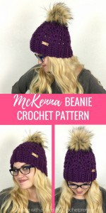 This lovely women's beanie crochet pattern creates a hat this is a great, everyday go-to! The ribbed brim offers the perfect stretch and warmth for even the coldest of days while the lacy shell pattern makes it a beautiful accessory to your casual cold-weather outfits. Top it with a faux fur pom, a matching pom or leave plain - whatever your choice, this hat is stunning. A quick and easy crochet, you can complete this hat in about an hour!