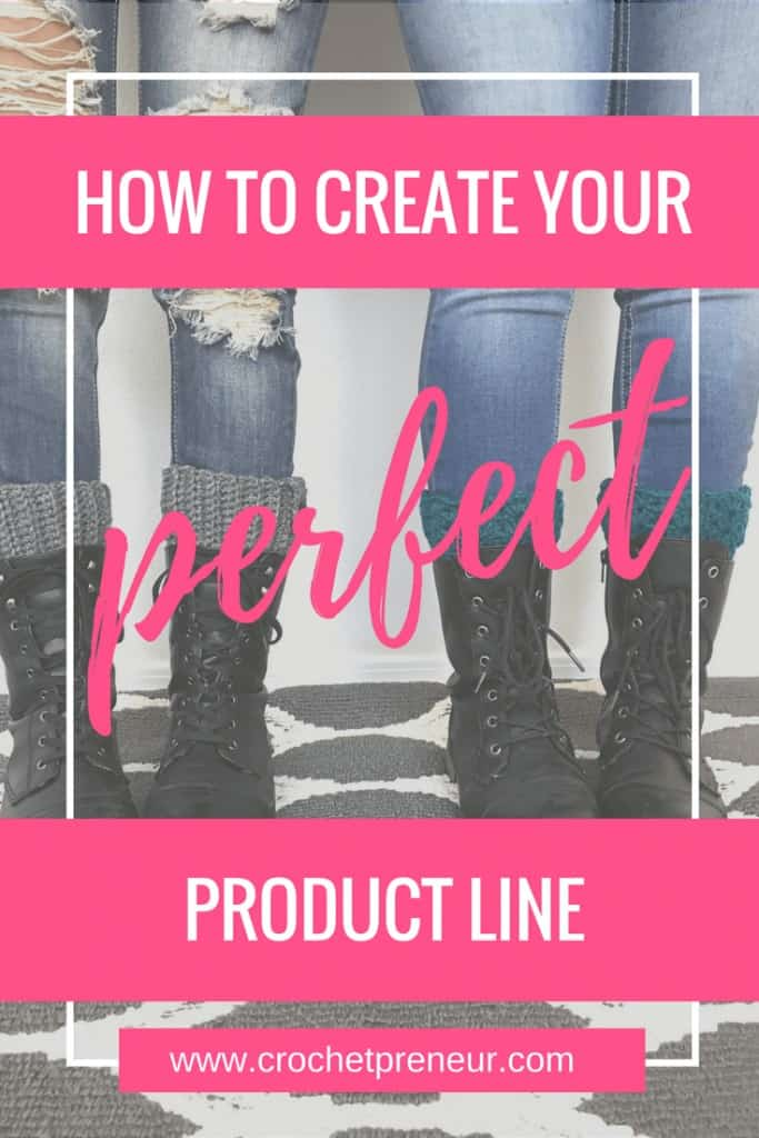 Pinterest graphic for How to Create Your Perfect Product Line