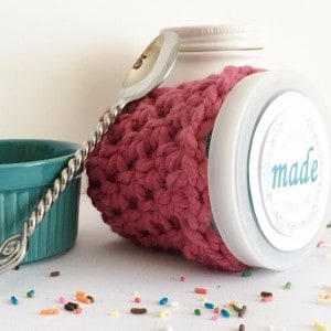 FREE CROCHET PATTERN for LIL PINT ICE CREAM COZY   Keep your hands warm and cozy with this great free crochet pattern.