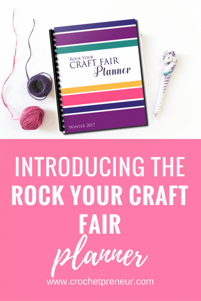 Pinterest graphic for Introducing the Rock Your Craft Fair Planner