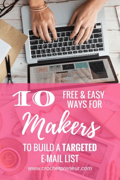 THE MONEY IS IN THE LIST | You already know aobut popups and post links, but here are 10 great, free, and easy ideas to build your email list that you may not have considered!