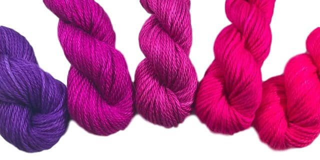 yarn from That's My Color Yarn Shop
