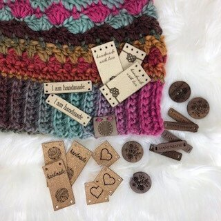 Photo for Sample Assortment of Product Tags (Leather, Wood, and Cork) from All This Wood