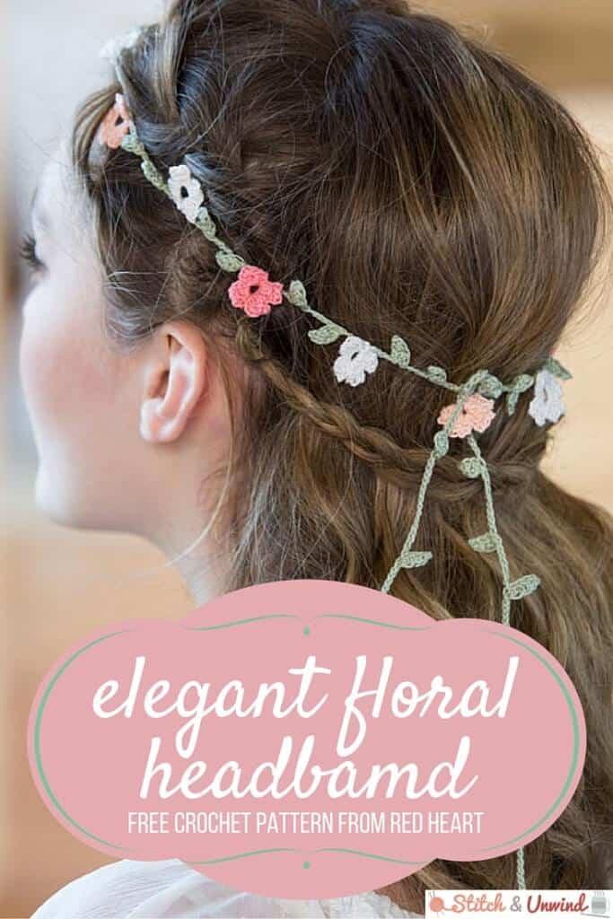 Elegant Floral Headband from Stitch and Unwind