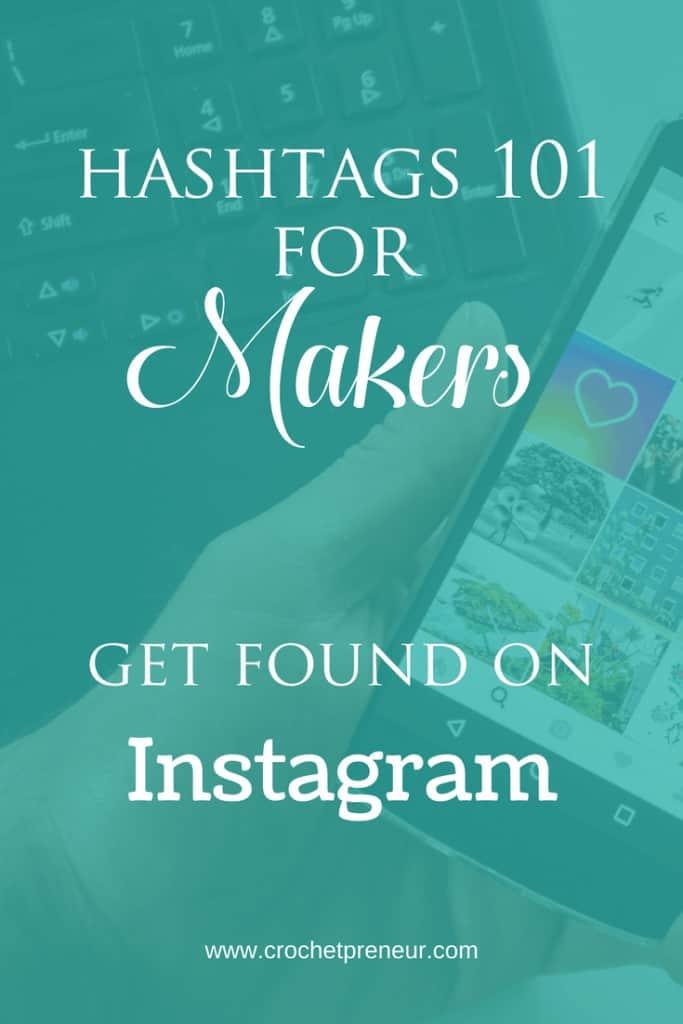 OMG, finally, someone is spelling it out. How to get found on Instagram for Makers! #hashtags #maker #hashtagsformakers #hashtagsforcrocheters #crochetbiztps #crochetbusiness #crochetseller #crochetpreneur #instagramtips #handmadesellertips