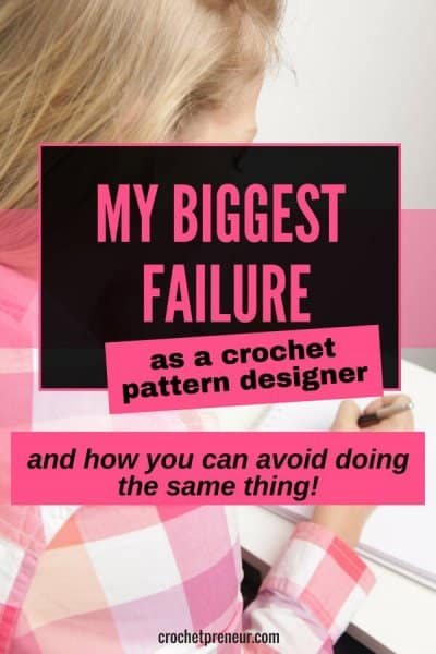 I made the biggest mistake as crochet pattern designer! But I learned my lesson. #crochetpattern #patterndesigner #failure #makerfail #techeditor #patterntester #crochetbusiness #handmadebusiness #handmadeseller #crochetshop #crochetdesigner