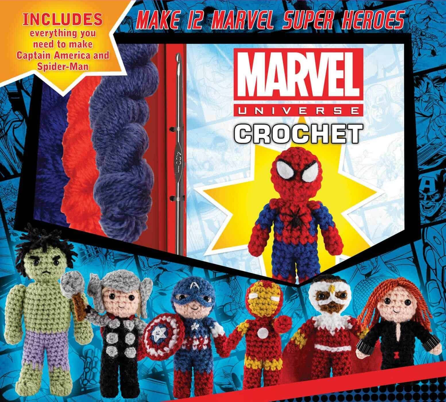 Marvel Universe Crochet Pattern Book