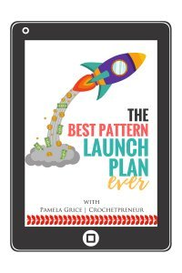 FREE detailed pattern launch plan for crocheters and knitters! Just follow the 2 week patter release schedule for maximum exposure and sales! Just click the link to learn more! #patternlaunch #patternrelease #crochetpattern #crochetdesigner #knitting #crochet #crochetpatterrelease #patternreleasechecklist #patternreleaseplan