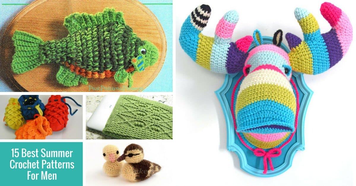 summer crochet patterns for men