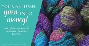 Wow, so many great resources for crochet business owners! #handmadebusiness #yarn #crochet #crocheting #crochetbusiness #sellcrochet #startacrochetbusiness #turnyarnintomoney #makemoneycrocheting #teachcrocheting