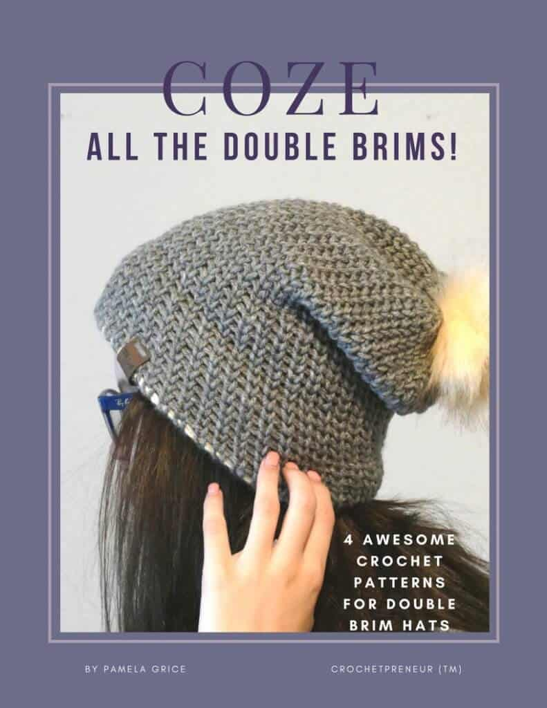 The COZE e-book containing all 4 patterns in the