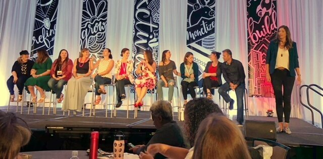ACTIVATE Expert Panel giving tips for online business success