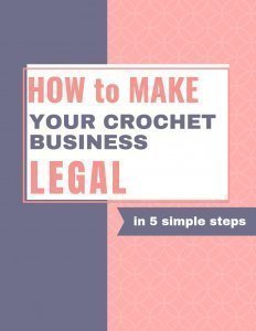 How to make your crochet business legal