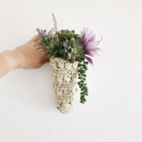 Gorgeous Cone Shaped Hanging Planter