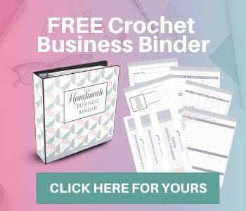 click here for a free crochet business binder