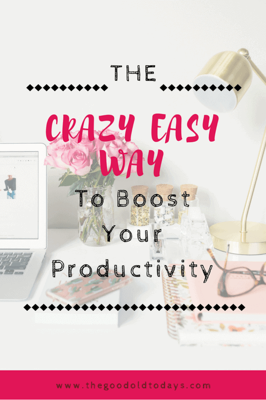 The Best Way To Increase Productivity As A Mom